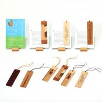 나다움 나무한조각 책갈피